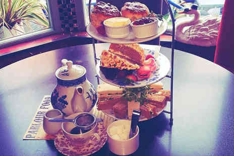 The Parlour - Sparkling afternoon tea for two - Save 57%