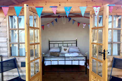 Abels Harp - One night glamping stay for two - Save 0%