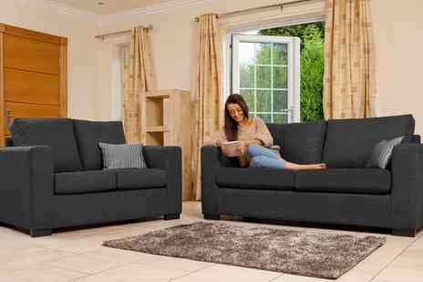 Groupon Goods Global GmbH - Naples Three plus Two Seater Sofa - Save 64%