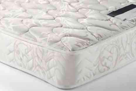 Groupon Goods Global GmbH - Sleep Easy Spring Memory Foam Mattress With Free Delivery - Save 83%