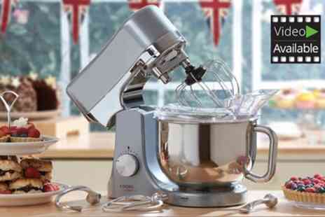 Groupon Goods Global GmbH - Cooks Professional Die Cast Stand Mixer With Free Delivery - Save 68%