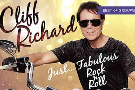 Superbreak - Cliff Richard Concert Ticket and Overnight Stay - Save 0%