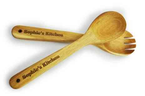 PhotobookShop - One, Two or Four Personalised Kitchen Utensil Sets - Save 83%