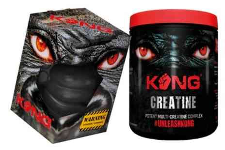 Groupon Goods Global GmbH - Kong Creatine 350g or Muscle Builder - Save 60%