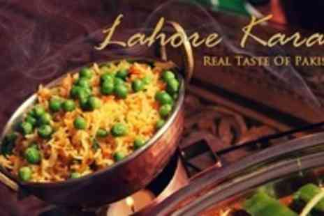 Lahore Karahi - Main, Dessert and Mango Lassi For Four - Save 60%