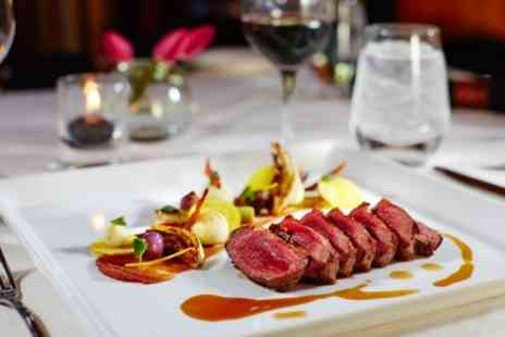 Le Petit Parisien - French Dining Experience, Two Courses with Wine for Up to Four People - Save 54%