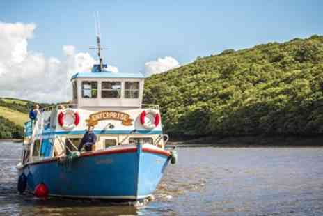 Cornwall Ferries - Cornwall Scenic Return River Cruise for 2 - Save 51%