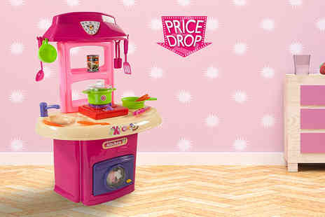 Heads Group - Kids kitchen play set with washer and cooker - Save 49%