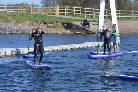 Wakelake - 90 minute introductory stand up paddleboarding session - Save 49%