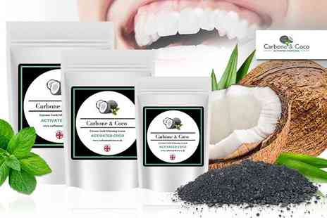 Carbone & Coco - 15g refill pack of teeth whitening powder - Save 78%
