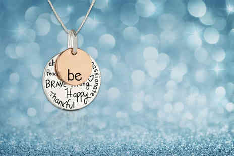 My Boutique Store - Be charm necklace - Save 80%
