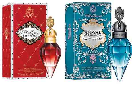 Groupon Goods Global GmbH - Katy Perry Killer Queen or Royal Revolution 30ml EDP or Both - Save 66%