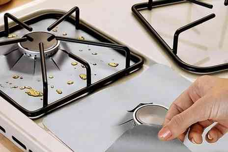 Groupon Goods Global GmbH - Stove Hob Protectors Four or Eight - Save 80%