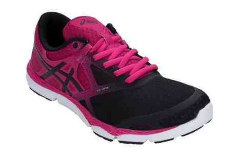 Groupon Goods Global GmbH - Asics Womens 33 DFA Running Shoes With Free Delivery - Save 55%