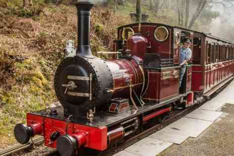 Talyllyn Railway - Adult day rover ticket for One or Two - Save 50%