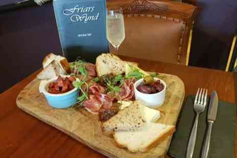 Friars Wynd - Sharing Platter with Optional Prosecco for Two or Four - Save 0%