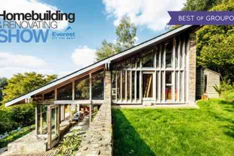 Scottish Homebuilding Show - One day entry for two to The Scottish Homebuilding And Renovating Show on 20 or 21 May - Save 64%