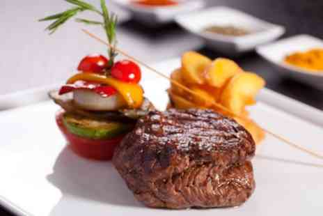 The Rock Hotel - Two Course Meal for Up to Four with Optional Wine - Save 67%