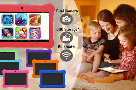 Bazaar me - 7 Inch Kids Android Tablet with Case Choose from Seven Colours - Save 82%