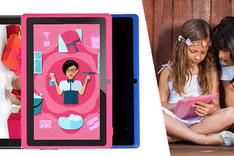 Bazaar me - Kids 7 Inch Google Android Tablet  Available in Three Colours - Save 88%