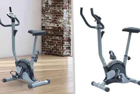 Mhstar - Belt Exercise Bike with Lcd Monitor - Save 0%