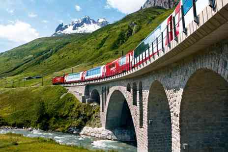 railtour suisse sa - Swiss Alps Glacier Express Train Tour with Hotels Stay - Save 0%