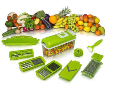 Kequ World - Fruit and vegetable slicer - Save 80%