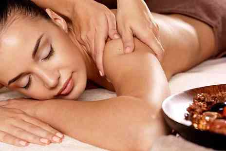Mi Vida Hair and Beauty - 30 minute back and neck massage, a 30 minute mani or pedi and a 30 minute Dermalogica facial - Save 75%