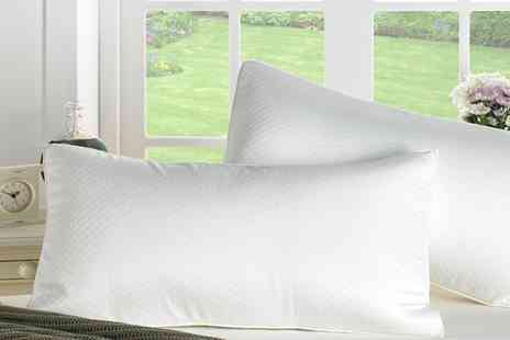Groupon Goods Global GmbH - Better Dreams Diamond Memory Foam Orthopaedic Pillow - Save 64%