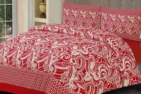 Groupon Goods Global GmbH - Printed Duvet Cover Set - Save 0%