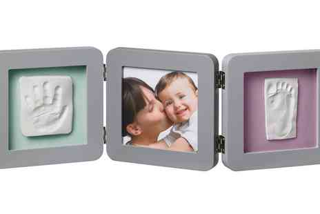 Groupon Goods Global GmbH - Baby Art Double Print Frame - Save 30%