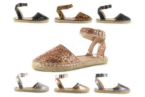 Groupon Goods Global GmbH - Womens Harper Cut Out Espadrilles - Save 0%