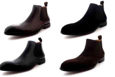 Groupon Goods Global GmbH - Mens Queensbury Harvey Dealer Gusset Chelsea Ankle Boots With Free Delivery - Save 0%