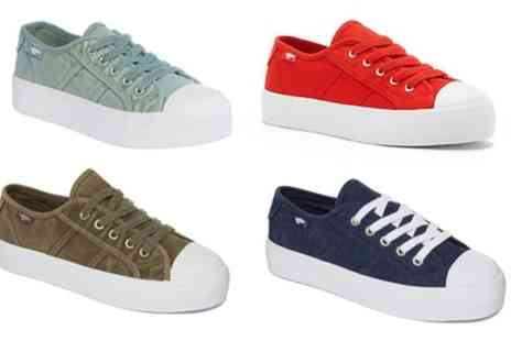 Groupon Goods Global GmbH - Womens Rocket Dog Magic Flatform Canvas Trainers in Choice of Colour - Save 38%
