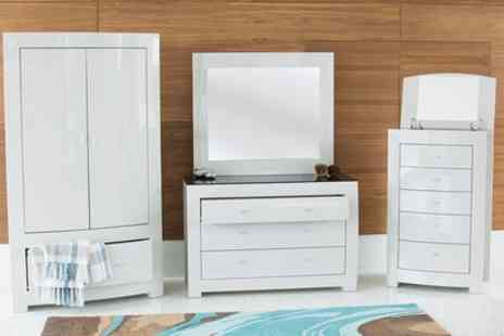 Groupon Goods Global GmbH - Escala Bedroom Furniture With Free Delivery - Save 7%