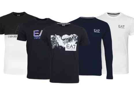 Groupon Goods Global GmbH - EA7 Emporio Armani T Shirts - Save 0%