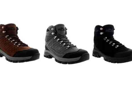 Groupon Goods Global GmbH - Mens Trail Hiking Outdoor Waterproof Walking Ankle Boots - Save 0%