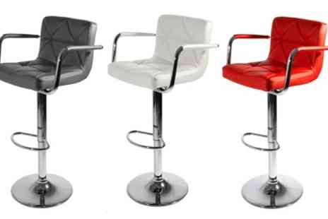 Groupon Goods Global GmbH - One or Two Malvy Bar Stools in Choice of Colours - Save 69%