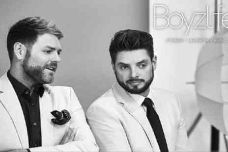 Boyzlife Touring - One  best available ticket to see Boyzlife on 3 April To 1 May - Save 40%