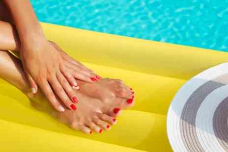 Unique Beauty - Gel Manicure, Pedicure or Both - Save 50%