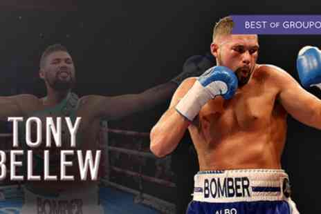 Pro Boxing - Entry to Lunch with Tony Bellew on 14 May - Save 40%