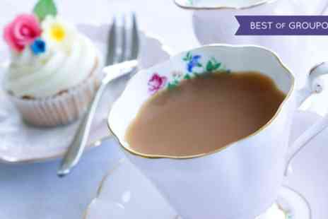 The Roundabout Hotel - Afternoon Tea with Optional Prosecco for Two or Four - Save 26%