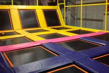 99 Jump Street - One Hour Jumping Session for Up to Four - Save 29%