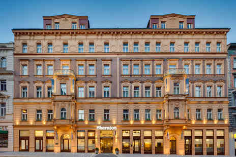 Sheraton Prague Charles Square - Five Star Stay in a Grand Deluxe Room - Save 71%