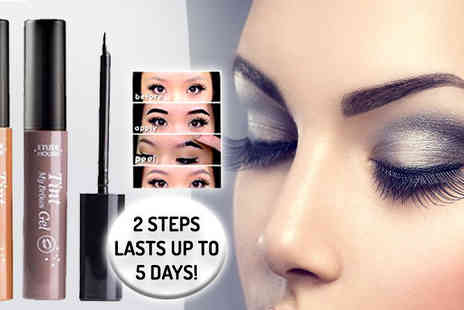 Get Gorgeous - Five Day Brush And Peel Brow Tattoo - Save 64%