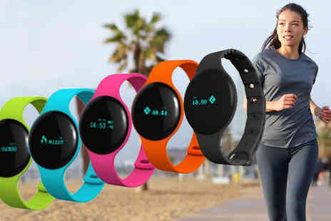 Bazaar-me - H8 Bluetooth Smart Bracelet Available in Five Colours - Save 83%