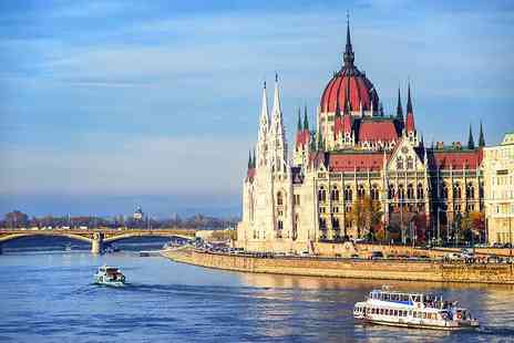 Weekender Breaks - Four or six night Prague and Budapest break including flights and train transfer - Save 50%