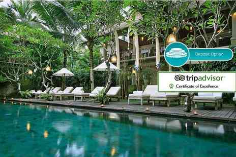 Puri Sunia Resort - Seven, ten or 14 night 4 Star Bali break with flights and breakfast - Save 24%