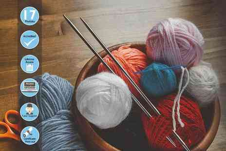 Centre of Excellence - Online knitting diploma course - Save 89%
