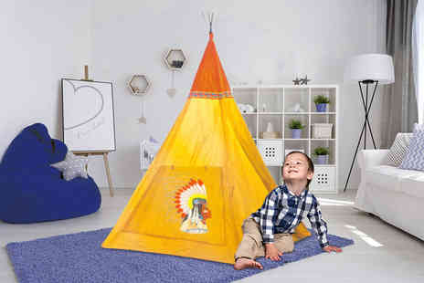 Ckent - Wild west teepee play tent - Save 47%